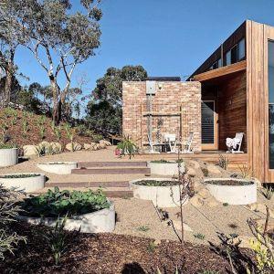 Raised Concrete Garden Beds