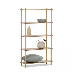 Rakk Tall Bookshelf | Natural Oak | PRE-ORDER