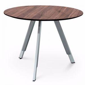 Ramos Round Office Meeting Table | Walnut