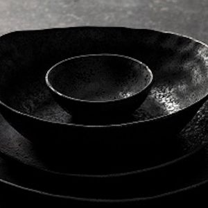Rania Collection | 6 Ceramic Soup Bowls & 6 Dipping Bowls