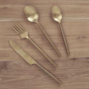 Ranya Flatware Brass l Pre Order