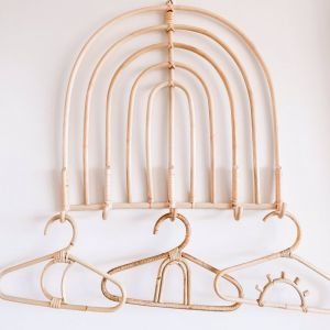 Rattan Baby Coat Hangers | By Sun Republic