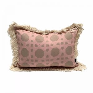 Rattan Cushion | Blush