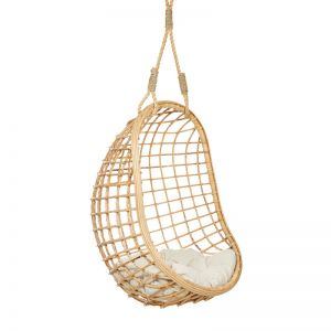 Rattan Hanging Chair | The Peanut | Fenton & Fenton