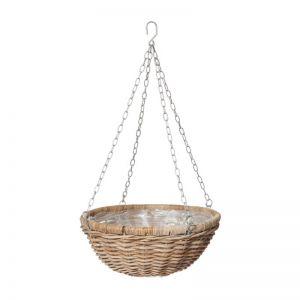 Rattan Hanging Planter Bowl