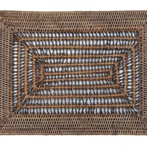 Rattan Placemat Openweave / Set of 6 by Satara