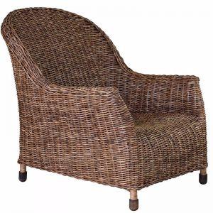 Rattan Plantation Lounge Chair
