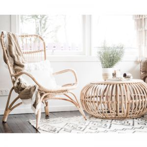Rattan Relaxer Chair | By Au Fait