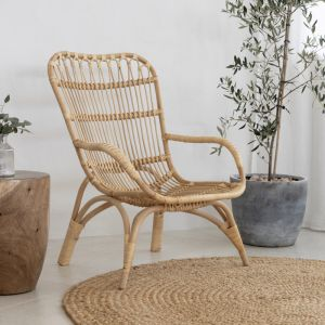 Rattan Relaxer Chair | By Au Fait | May Pre-Order