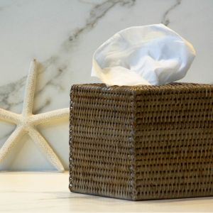 Rattan Tissue Box by SATARA