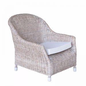 Rattan Verandah Lounge Chair