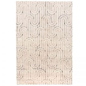 Reality Weave Rug | Cream | by Amigos de Hoy