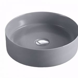Reba Art Ceramic Basins | Matte Light Grey