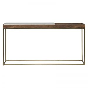 Recess Console Table | Natural & Marble | freedom