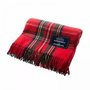 Recycled Wool Scottish Tartan Blanket