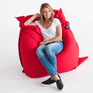 Red Crashmat Beanbag