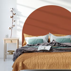 Red Earth | Reusable Decal Headboard
