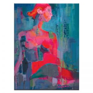 Red Kiss | Canvas or Print | Framed or Unframed