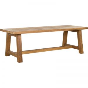 Refectory 240cm Reclaimed Wood Dining Table | Schots