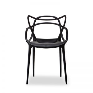 Replica Philippe Starck Masters Chairs | Black | Set of 4