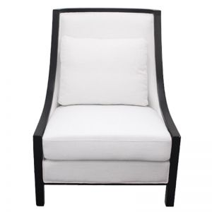 Resort Armchair | White | by Dasch Design