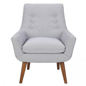 Retro Fabric Armchair, Hazelnut Leg | freedom