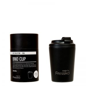 Reusable Cup | Bino Black 227ml /8oz