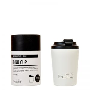 Reusable Cup | Bino White  227ml / 8oz