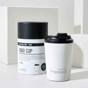 Reusable Cup | Bino White  227ml / 8oz
