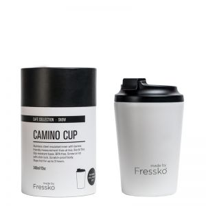 Reusable Cup | Camino White 340ml / 12oz
