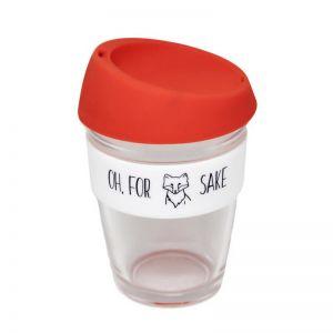 Reusable Glass Coffee Cup | For Fox Sake