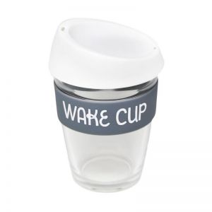 Reusable Glass Coffee Cup | Wake Cup