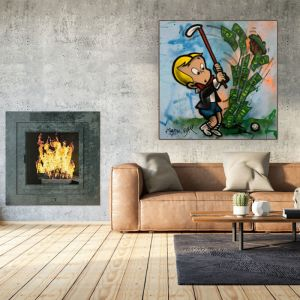 Richie Rich Hole In One   Original Artwork