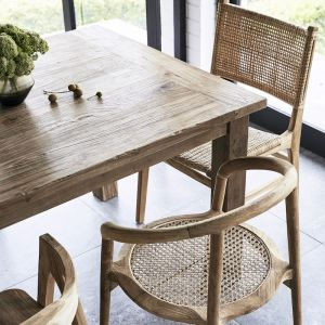 Ridha Teak Dining Table l Custom Made