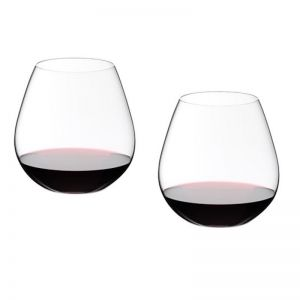 Riedel O Tumbler Pinot Noir Glass (stemless) | Pack of 2