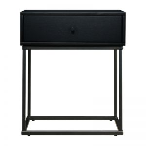 Riley Bedside Table | Black