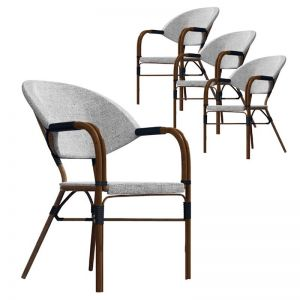 Riley Cozy Boho Dining Chair | Set of 4