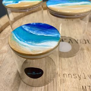Rip Beach Resin Canister Set | Set of 3