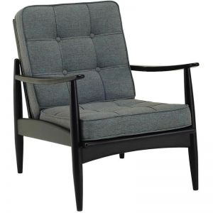 Ripon Replica Mid-Century Armchair in Whale