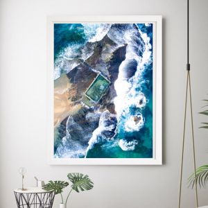 Ripple Effect | Framed Wall Art by Hoxton Art House