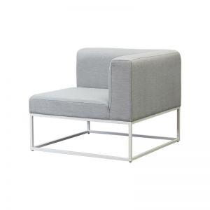 Riva Modular Sofa Corner in White | By Satara