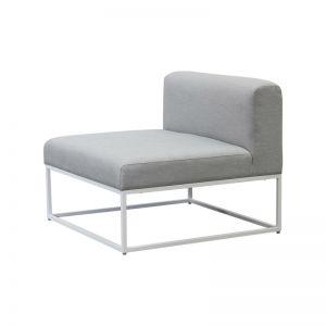 Riva Modular Sofa Middle in White | By Satara