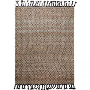 River Weave Rug by Amigos de Hoy | Black