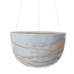Riverstone Hanging Planter Small by Angus & Celeste | Aqua Splash