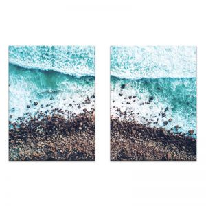 Rocky Beach | Canvas or Print by Photographers Lane