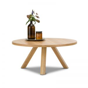 Roi Round Coffee Table | Light Oak | PRE-ORDER