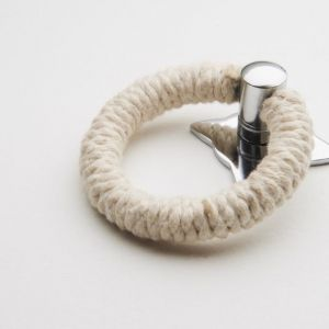Rope Pull | Cotton with Polished Chrome