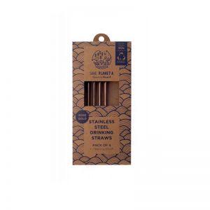 Rose Gold Drinking Straws | 4pk Sale 50% off