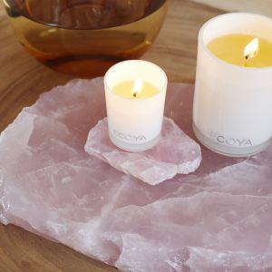 Rose Quartz Crystal Slab | Wisdom of Maurice