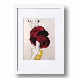 Rose Wrap   Signed Artist's Print   Various Sizes for Easy Framing